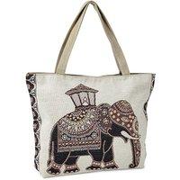 Elephant Tapestry Shopper Bag