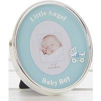 Little Angel Oval Photo Frame