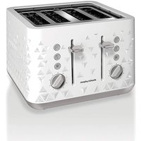 Morphy Richards Prism White Toaster