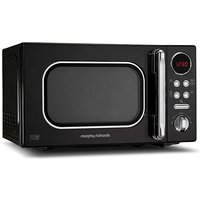 Morphy Richards 20L 800W Black Microwave