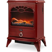 Pifco 2000W Compact Red Stove