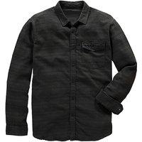 Image of Jacamo Brushed Stripe Shirt Long