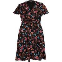 Lovedrobe Ruffle Tea Dress