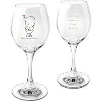 Chilli & Bubbles Personalised Wine Glass