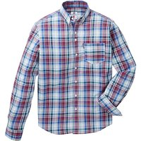 Lambretta Plaid Check Shirt Long