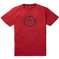 Original Penguin Circle Logo T-Shirt L