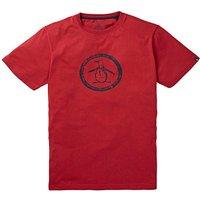 Original Penguin Circle Logo T-Shirt Reg
