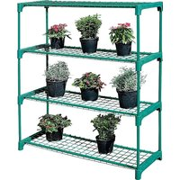 4 Shelf Tubular Greenhouse Staging