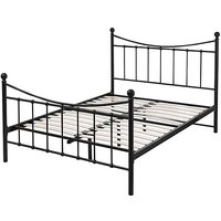 Lucy King Size Metal Bedstead