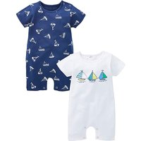 KD Baby Boy Pack of Two Rompers