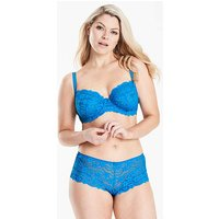 Daisy Lace Full Cup Surf Blue Bra