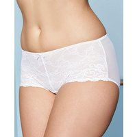 2 Pack Stretch Lace Black/White Shorts