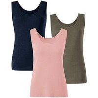 Pack Of 3 Vests
