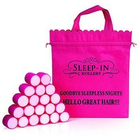 Sleep In Rollers Short Hair - FREE Gift