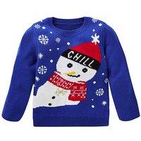 KD Unisex Snowman Christmas Jumper