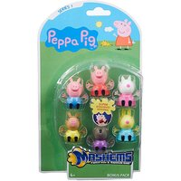 Mashems Peppa Pig 6 Pack