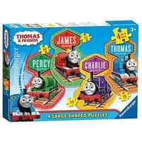 Thomas & Friends Large 4 Shaped Jigsaw