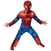 Boys Deluxe Ultimate Spiderman Costume