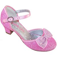 Sparkle Club Pink Heeled Shoes