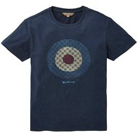 Ben Sherman Checked Target T-Shirt R