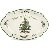 Spode Christmas Tree Merry Xmas Tray