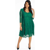 Lindy Bop Three Quarter Sleeve Dress