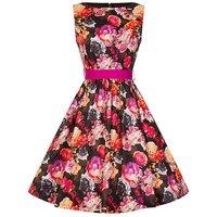 Lindy Bop Audrey Floral Swing Dress