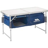 Trespass Camping Table with Storage.