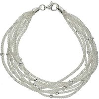 Sterling Silver 8 Strand Bracelet