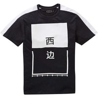Label J Character Print T-Shirt Long