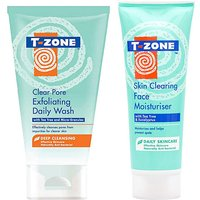 T-Zone Face Wash and Moisturiser Set