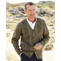 Premier Man Jacquard Button Cardigan