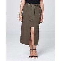 Tencel Wrap Skirt