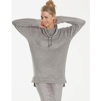 Pretty Secrets Fleece Cowl Neck Jumper
