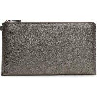 Michael Kors Tumbled Leather Clutch Bag