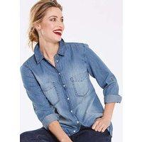 Vintage Blue Denim Shirt