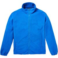 Capsule Blue Full Zip Polar Fleece