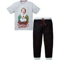 Santa's Coming Elf Long PJ Set