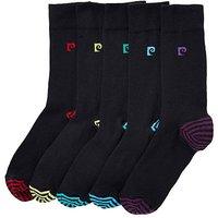 Pierre Cardin Pack of 5 Heel & Toe Socks