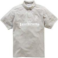 Image of Lambretta Embroidery Logo Polo Regular