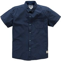 Bellfield Cabrillo Navy Shirt Long