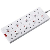 8 Socket Switch Extension Lead
