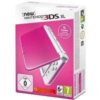 The New 3DS XL Pink and White Console