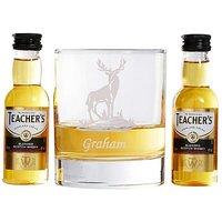 Personalised Teachers Whisky Gift Set