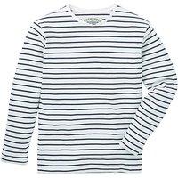 Jacamo Ashford L/S Stripe T-Shirt Reg