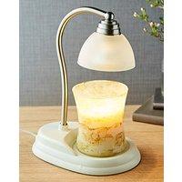 Aurora Candle Warmer Lamp White