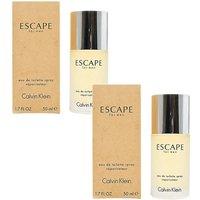 CK Escape Homme 50ml EDT Duo Set