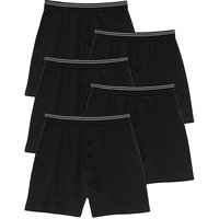 Southbay Pk of 5 Knitted Boxer Shorts
