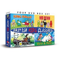 Mr Benn King Rollo Towser Victor Maria