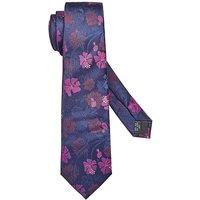 Williams & Brown Floral Silk Tie